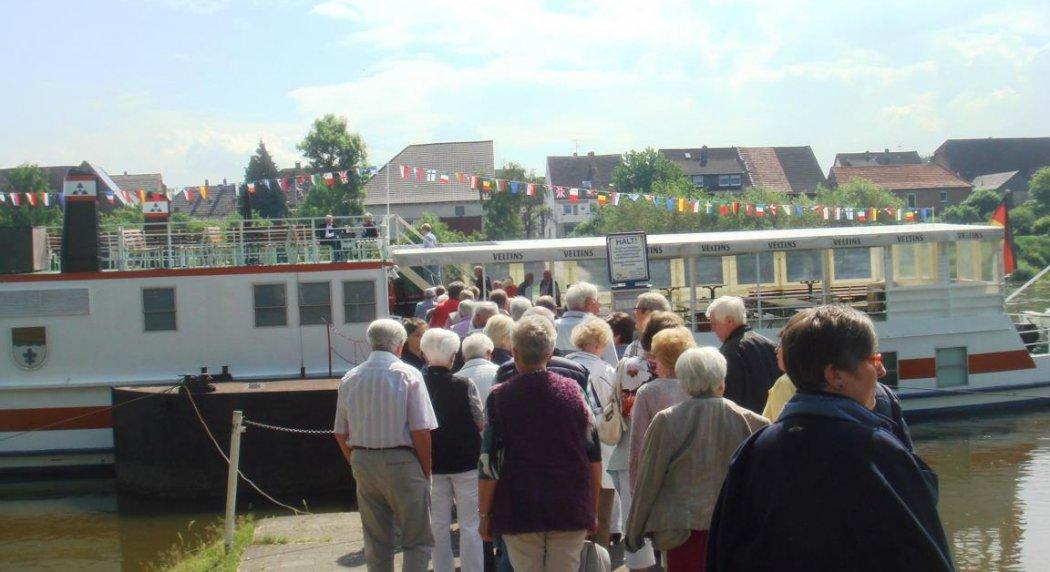 Senioren zurück aus Strasbourg
