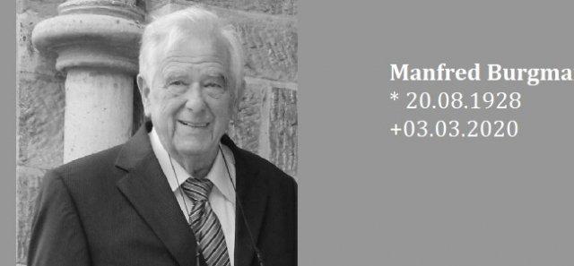 Der TSV Fichte Hagen trauert um Ehrenmitglied Manfred Burgmann