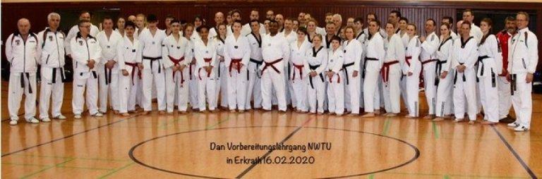 NWTU Dan-Vorbereitung-Lehrgang Erkrath 16.2.20