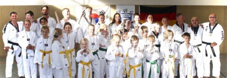 Gute Resonanz bei vereinsinternem Turnier der Taekwondo-Abteilung