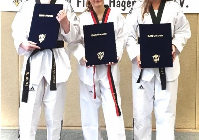 Erstmalig findet Taekwondo-Dan-Prüfung beim TSV Fichte Hagen statt