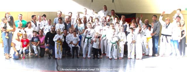 Vorstand der Taekwondo Abteilung stellt sich bei Mitgliederversammlung breiter auf