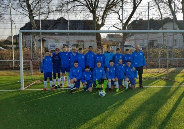 Fichte Fußballjugend trainiert auch in den Herbstferien durch