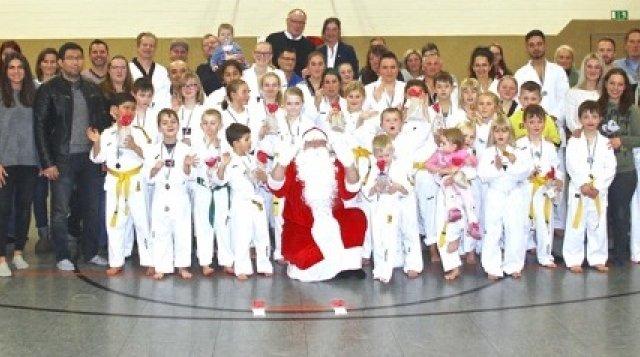 Rückblick auf das 1.Weihnachtsturnier der Taekwondo-Technik