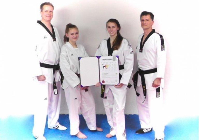 Einmal mehr: Erfolgreiche Danprüfungen für unsere Taekwondo-Kämpfer