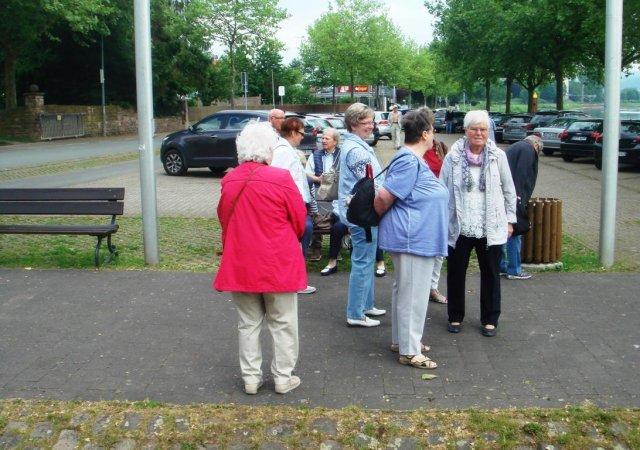 Senioren zurück aus Höxter