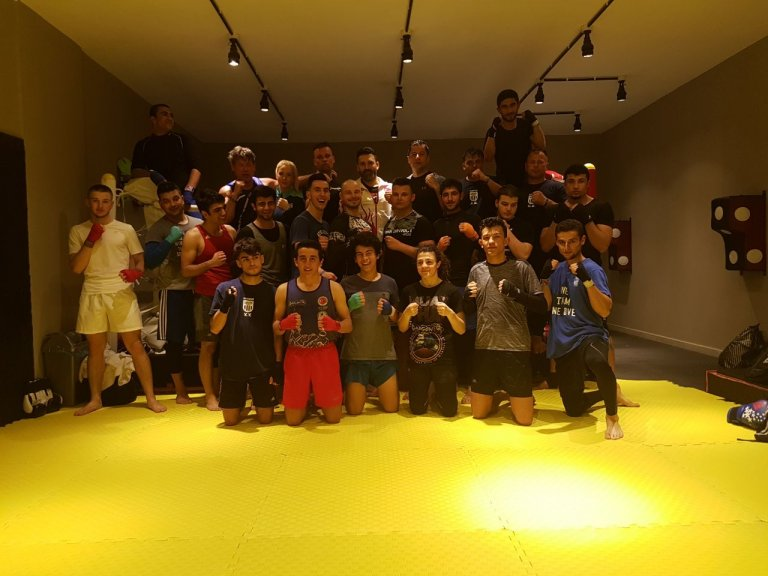 Boxring Fichte trainierte eine Woche in der Türkei