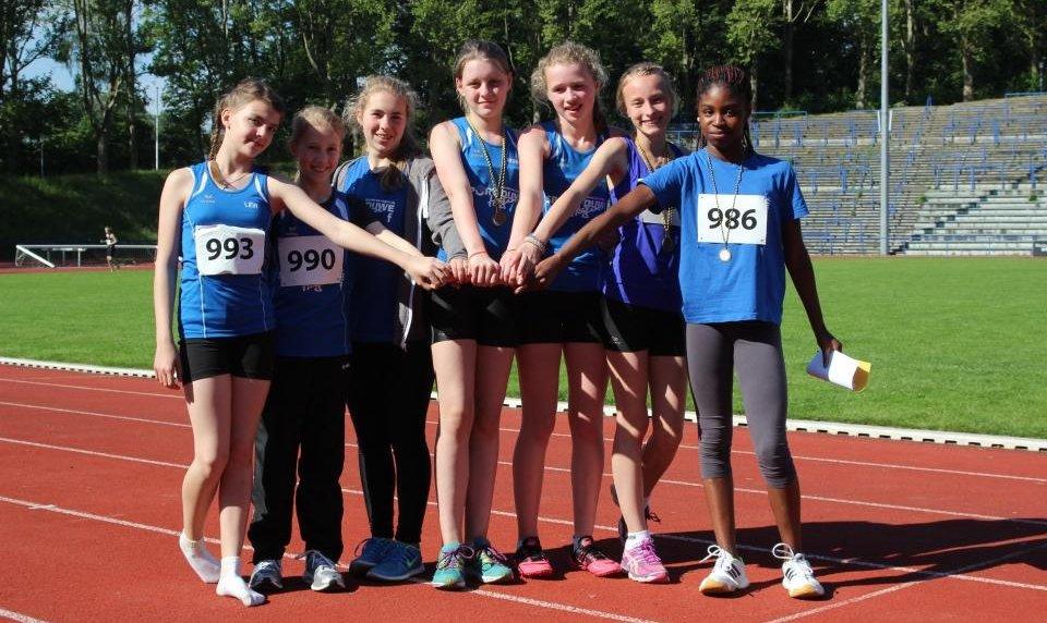 U18 Mädchen - starke Leistung