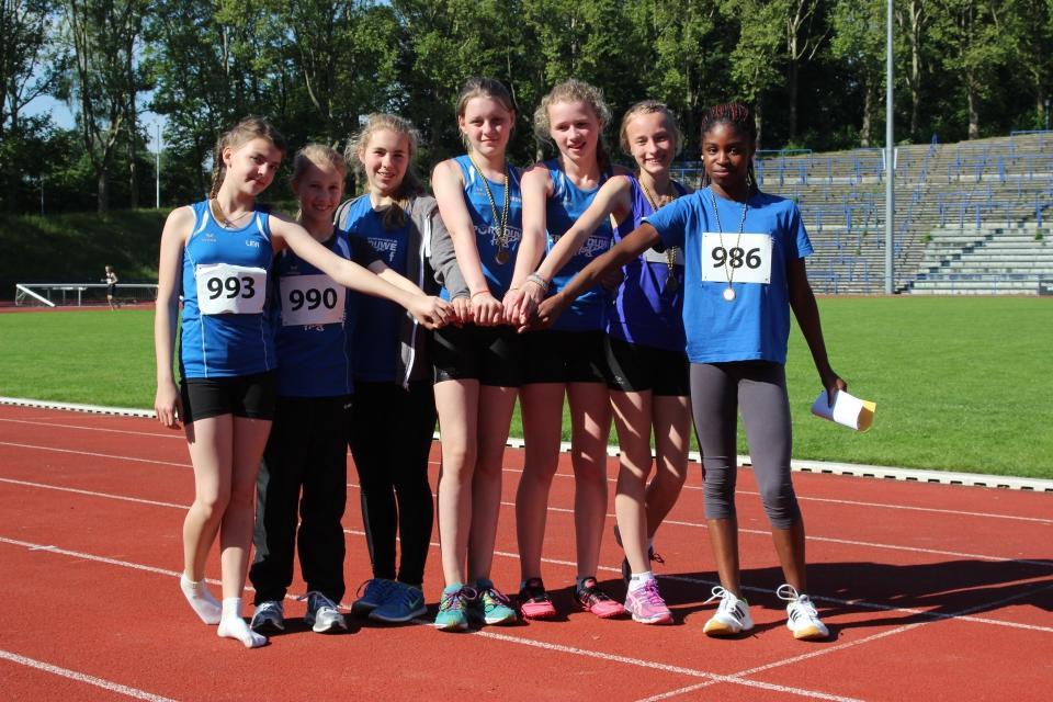 U18 Mädchen – starke Leistung