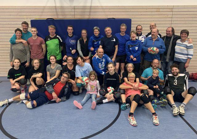 Volleyballer bieten ab Oktober wieder Hallentraining an