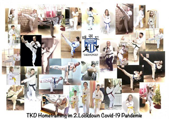 Taekwondoabteilung bietet digitale Trainingseinheiten an