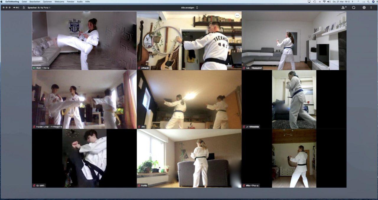 Ziel in Sicht: Endlich einmal raus aus der virtuellen Trainingswelt