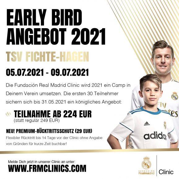 Fundación Real Madrid Clinic (05.-09.07.2021 auf dem Struckenberg)