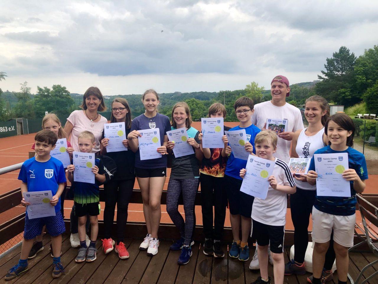 Tennis Camps – eine intensive Woche mit viel Spaß ist zu Ende